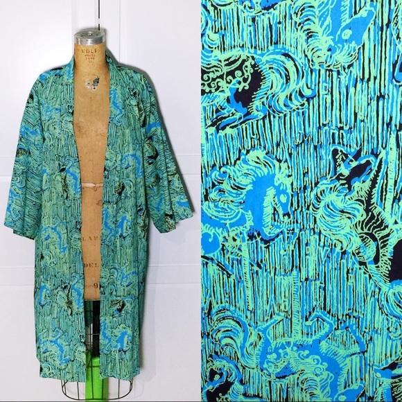 b3f387a53c51d1 Lilly Pulitzer Jackets & Coats   Vintage Mens Lounge Coatrobe   Poshmark
